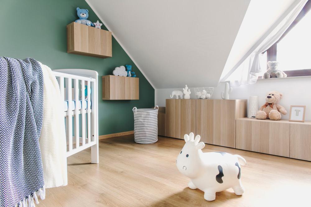 Ruime Lichte Babykamer : 10x een mooie groene babykamer blogo.nl