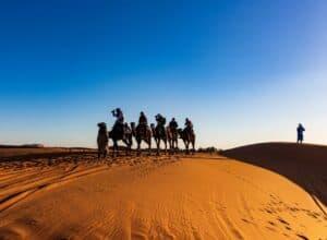 de sahara in marokko