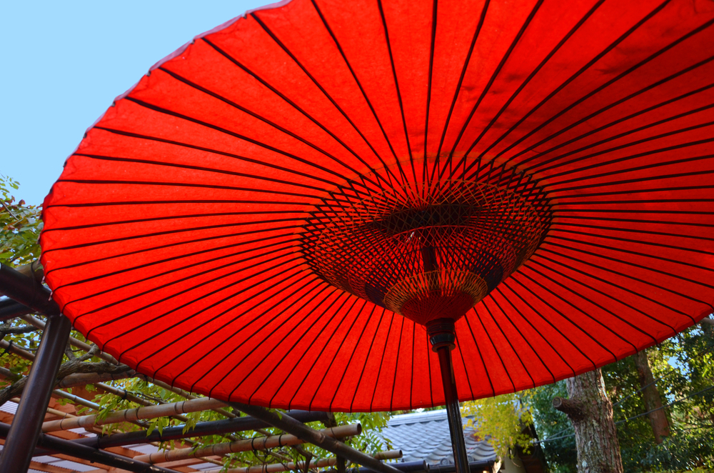 Japanse parasol