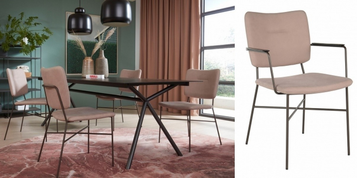 Moderne stoel met uniek design