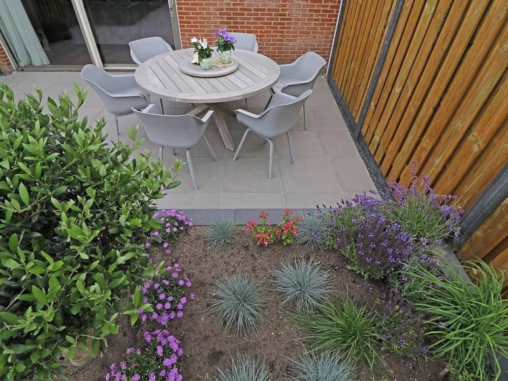 Tuinmeubelen op de juiste plek
