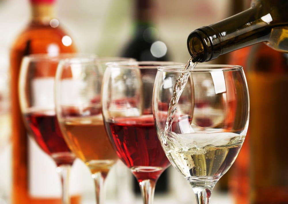 Wijn voor een feestje