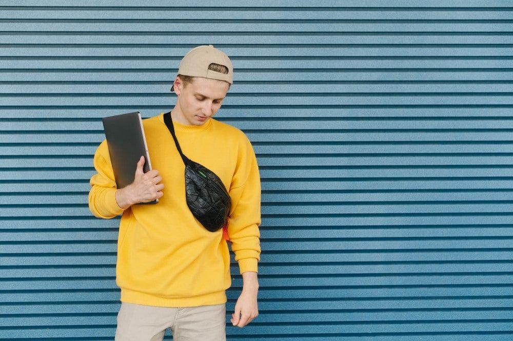 Heuptas stoere mode accessoires voor mannen