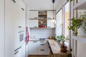 Zorg voor voldoende daglicht in kleine keuken
