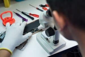 Een reparatiehandleiding uitzoeken