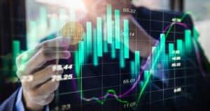 Stijgende waarde Bitcoin