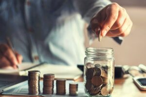 Eigen spaargeld gebruiken