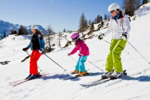 Neem ook op skivakantie nog wat lessen